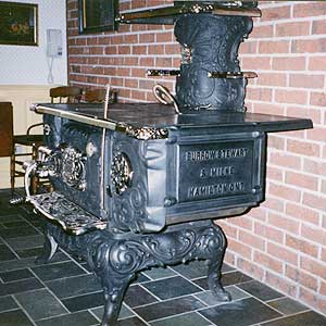 wood stove repairs - antique