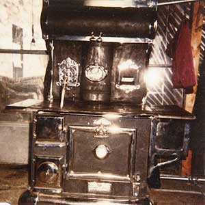 vintage - wood stove repair