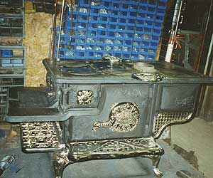 used wood cook stoves for sale